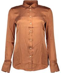 Woman Shirt Fred Perry 67111 - M / Bronzová