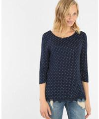 T-shirt dos croisé bleu marine, Femme, Taille L -PIMKIE- MODE FEMME