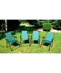 Skládací židle Gardeny zelená - zelená