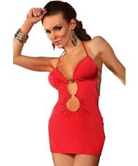 Beauty Night Fashion Erotické šaty BEAUTY NIGHT Amelia červené