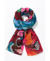 Desigual barevný šátek Ikara Rectangle