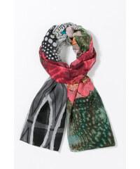 Desigual barevný šátek Rectangle Alabama