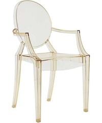 Židle Louis Ghost od KARTELL (transparentní žlutá)
