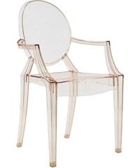Židle Louis Ghost od KARTELL (transparentní oranžová)