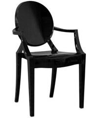 Židle Louis Ghost od KARTELL (černá)