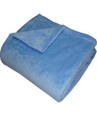 Super soft deka Dadka - modrá 150/100
