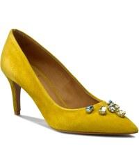 High Heels BALDOWSKI - D01676-0581-001 Żółty Zamsz