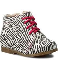 Schnürschuhe FALCON - 4671 Zebra