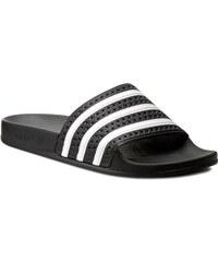 Pantoletten adidas - Adilette 280947 Black1/Wht/Black1