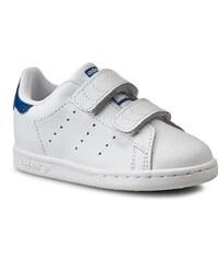 Schuhe adidas - Stan Smith CF I S74782 Ftwwht/Ftwwht/Eqtblu