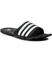 Pantoletten adidas - Adipure FC AQ3936 Cblack/Ftwwht/Clegre