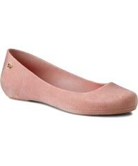 Ballerinas ZAXY - Pop Flocked Fem 82001 Pink 50539 V285002