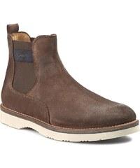 Kotníková obuv s elastickým prvkem GANT - Huck 13643405 Dark Brown G46