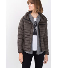 Esprit Lehká péřová bunda s límcem