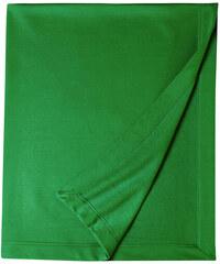 Měkká fleecová deka - Irská zelená univerzal