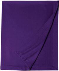 Měkká fleecová deka - Fialová univerzal