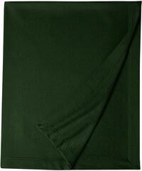 Měkká fleecová deka - Lesní zelená univerzal