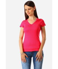YooY Tričko v moderních barvách tmavě růžová
