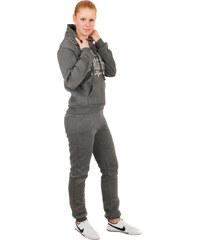 YooY Pohodlná sportovní souprava šedá