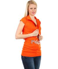 YooY Krásné bolerko k tričkům a k tílkům oranžová
