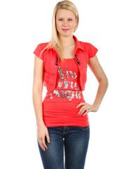 YooY Krásné bolerko k tričkům a k tílkům růžová