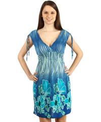 34cbe15ed5f3 Modré Kvetované Šaty z obchodu GLARA.sk - Glami.sk