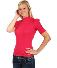 TopMode Dámské elegantní tričko s rolákem (růžová 25ea4e906b