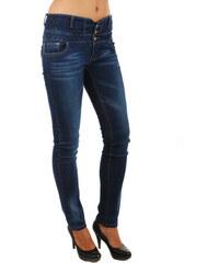 Glara Dámské džíny s vysokým pasem 38e4241ab1