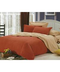 YooY Moderní povlečení bavlna oranžová