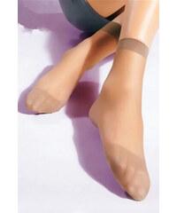 YooY Silonkové ponožky klasik tělová