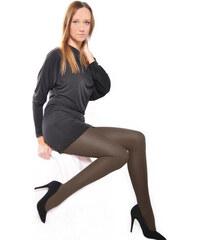 YooY Punčochové kalhoty silonky Sretch černá