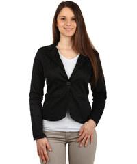 YooY Klasické černé dámské sako černá