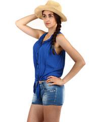 Modré Dámske blúzky a košele z obchodu GLARA.sk  9883a0216d5