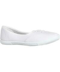 YooY Stylové sportovní baleríny bílá
