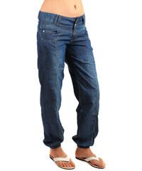 YooY Volné riflové kalhoty modrá