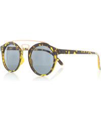 Rayflector Hnědo-černé sluneční brýle Chiara