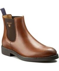 Kotníková obuv s elastickým prvkem GANT - Oscar 13651407 Cognac G45