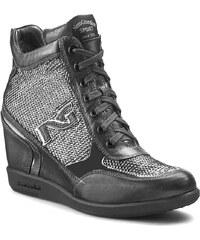 Sneakersy NERO GIARDINI - A616092D Old Iron Nero 100
