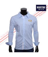 Maritimi Hemd mit maritimen Logo-Stickereien - 3XL