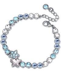 Lesara Armband mit Sternen-Anhänger & Swarovski Elements - Blau