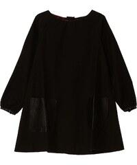 Finger in the Nose Sofia - Robes avec poches en cuir - noir