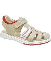 Kickers Platinium - Sandales en cuir - rouge
