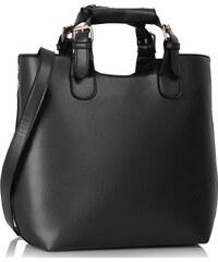L&S Fashion Kabelka LS00267 černá