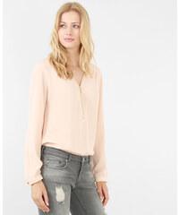 Blouse zippée rose pâle, Femme, Taille L -PIMKIE- MODE FEMME