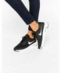 Nike - Air Max Thea - Baskets - Noir et blanc - Noir