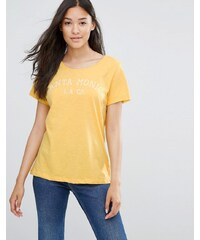 Soaked in Luxury - Santa Monica - T-shirt - Jaune