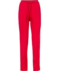 RAINBOW Pantalon sport avec taille élastique rouge femme - bonprix