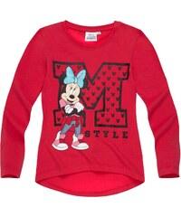 Disney Minnie Langarmshirt pink in Größe 104 für Mädchen aus 100% Baumwolle