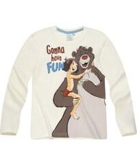 Disney Das Dschungelbuch Langarmshirt beige in Größe 98 für Jungen aus 100% Baumwolle