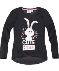 Pets (Secret Life of Pets) Langarmshirt grau in Größe 104 für Mädchen aus 60 % Baumwolle 40 % Polyester